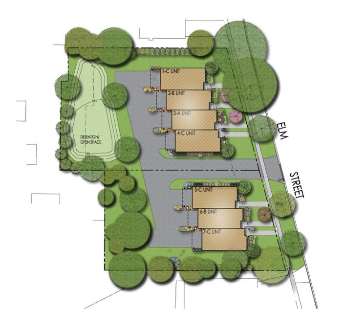 Elm Street Site Plan