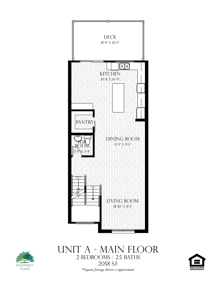 Unit A - Main Level