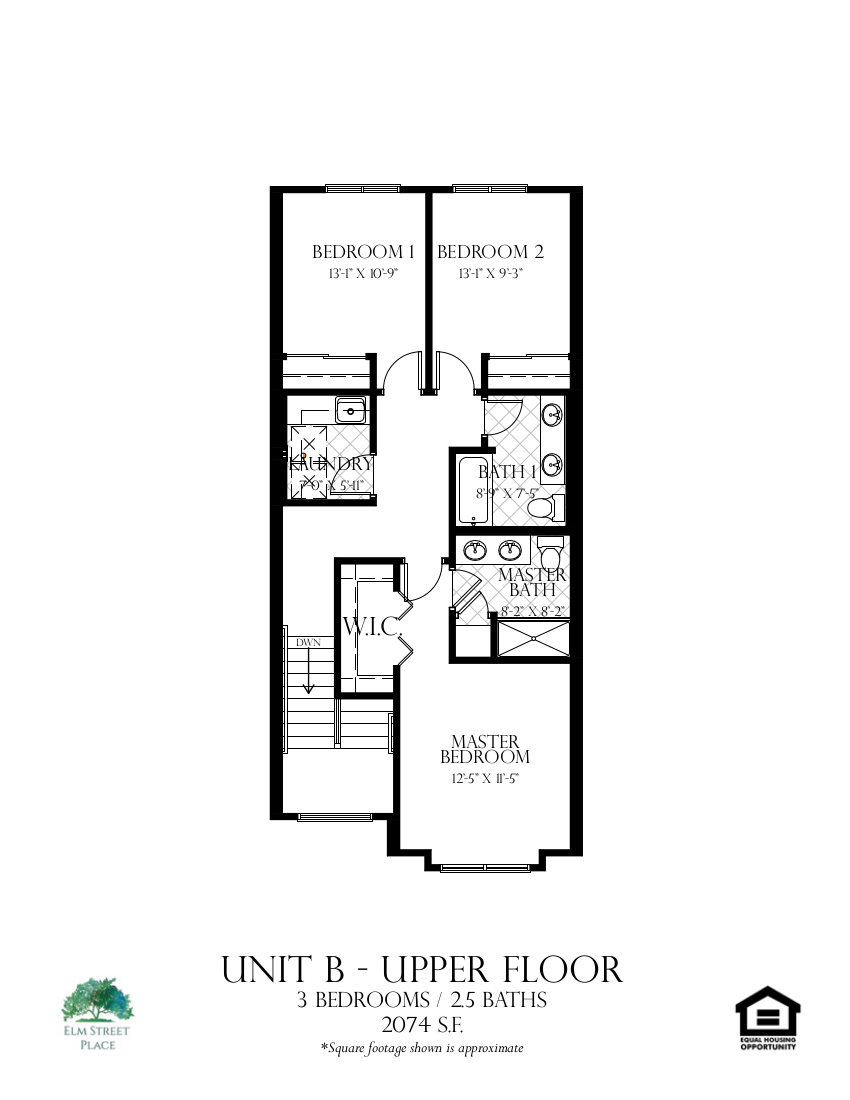 Unit B Upper Level