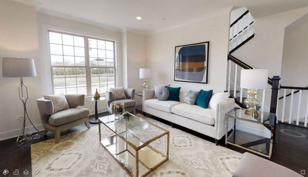 Model Home 3D Tour of Elm Street Place Luxury Townhomes in Deerfield IL